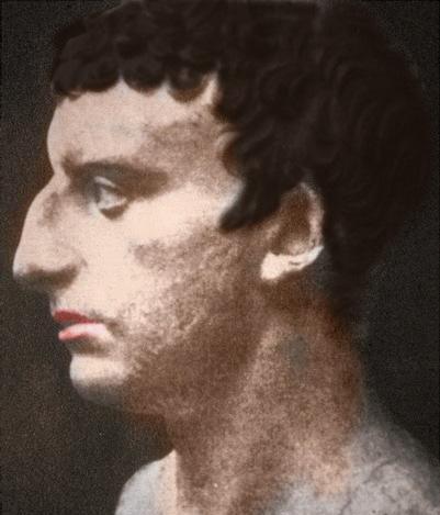 First century bust possibly of Flavius Josephus